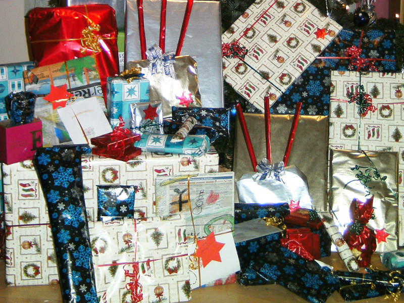Gemeinsam Weihnachten feiern ist ein Geschenk
